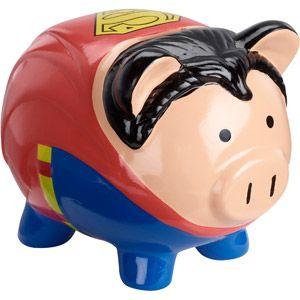 Superman Piggy Bank