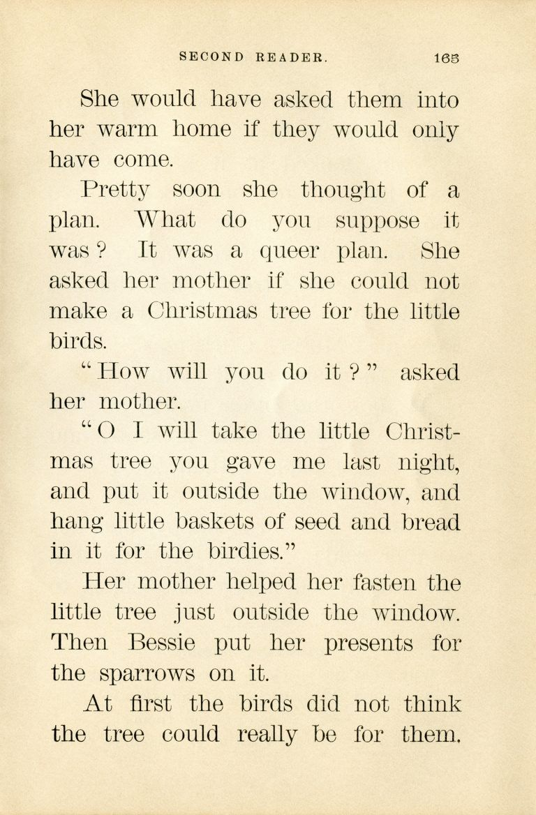 Free printable Sparrows Christmas Tree story   story paper ...