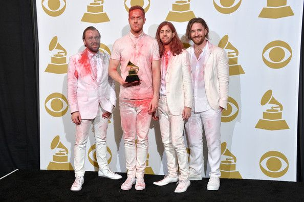 Dan Reynolds Photos Photos Press Room At The Grammy Awards Imagine Dragons Grammy Awards Dan Reynolds