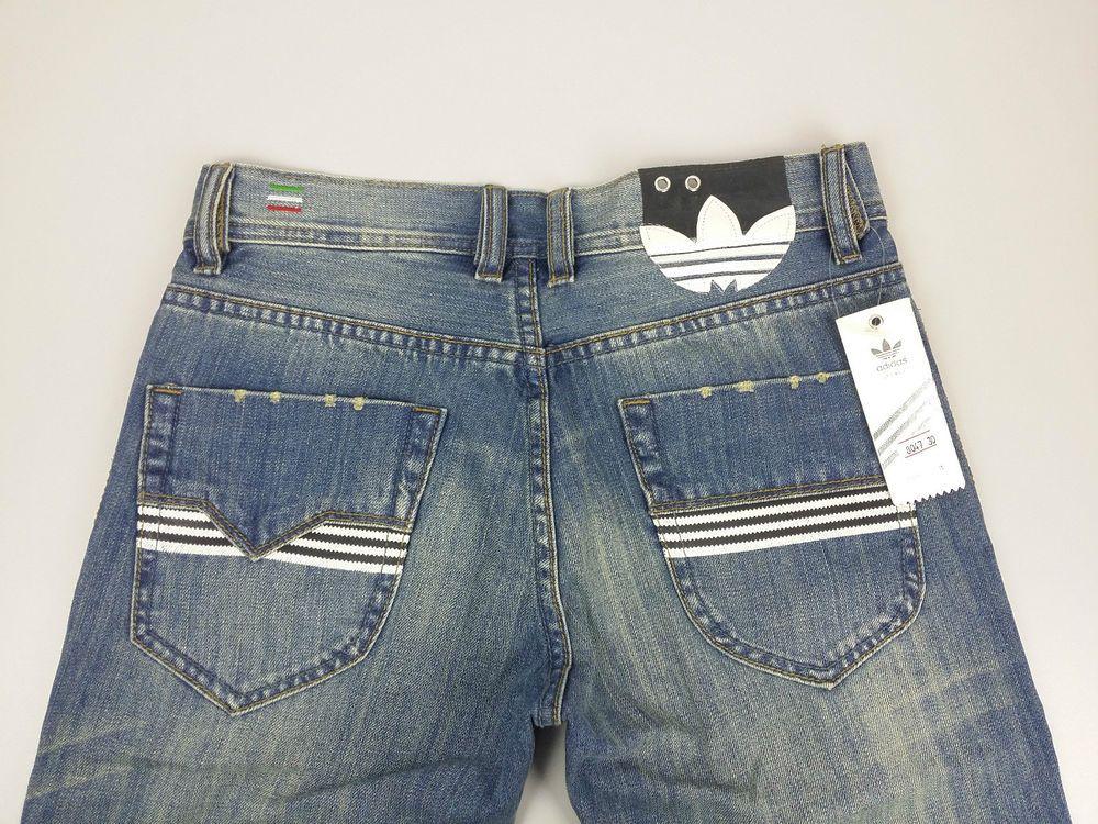 Neu Diesel Viker Ad Adidas Originals Edition W30 L32 Blau Hose New Mens Jeans 2 Mens Jeans Blue Trousers Denim Details