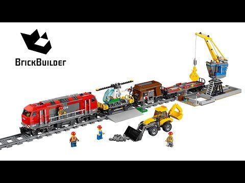 Lego City 60098 Heavy-Haul Train - Lego Speed Build | Lukas\' videos ...