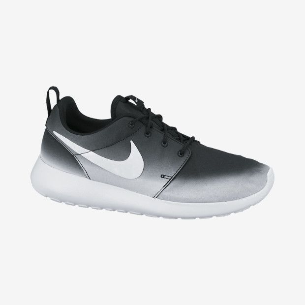 NIKE ROSHE RUN OMBRE PRINT IN BLACK/WHITE