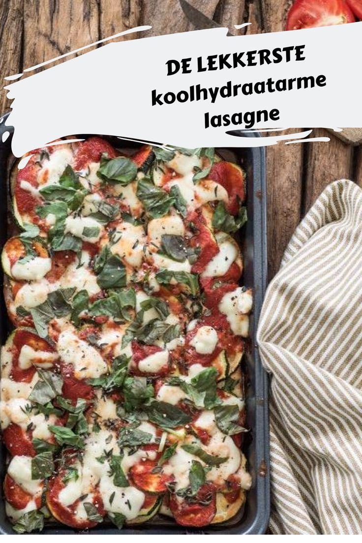 Koolhydraatarme lasagne - Foodsisters
