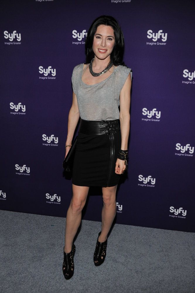 syfy upfront, Jaime Murray, H.G. Wells, Warehouse 13, Defiance