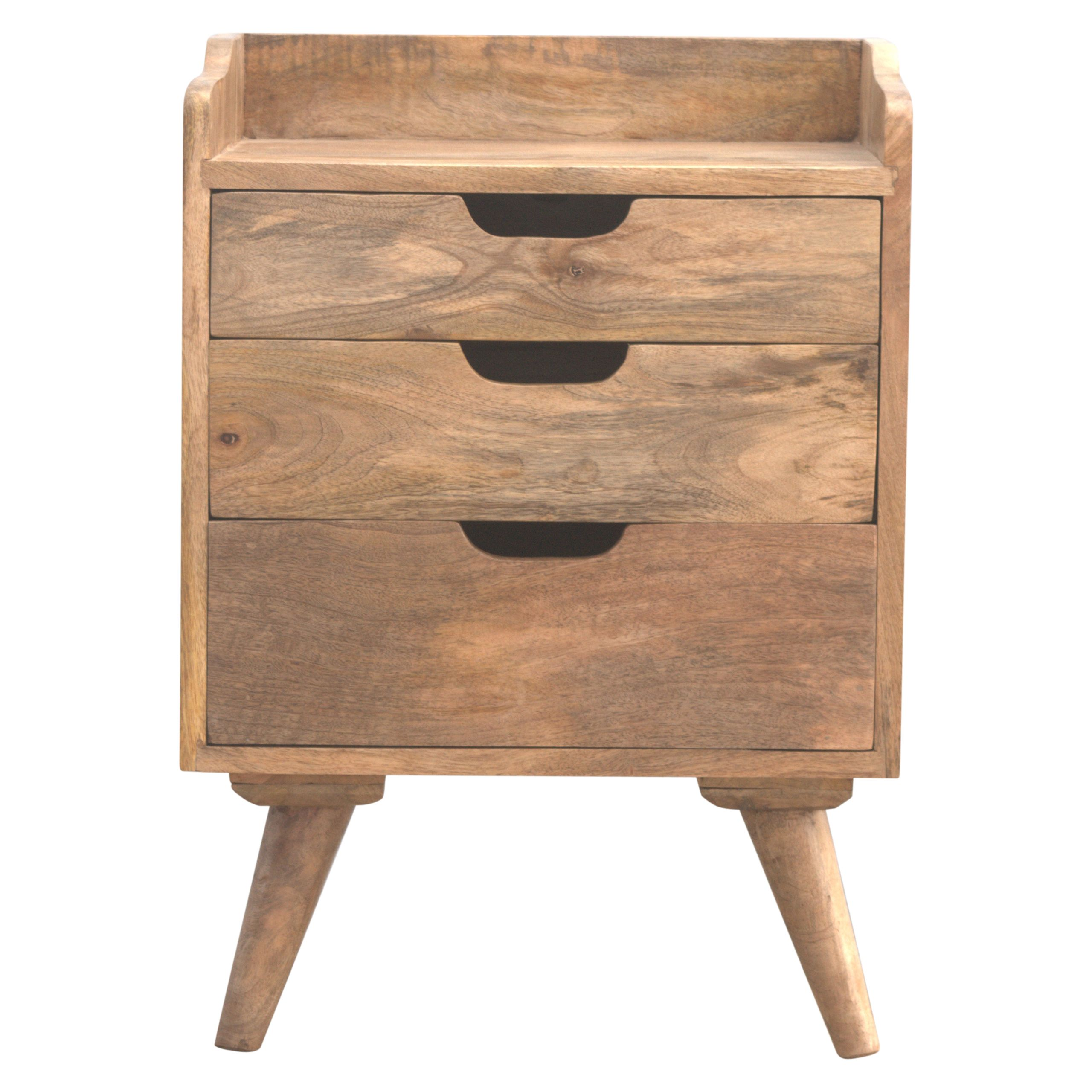 This Bedside Table Makes A Perfect Stand For Nibbles Drinks Or A