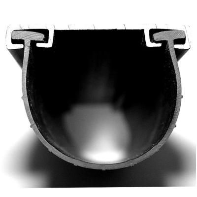Proseal 20 Ft Garage Door Bottom Seal Insert Forms A U Shape With 1 4 In T Ends 55020 Garage Door Bottom Seal Weather Seal Garage Doors