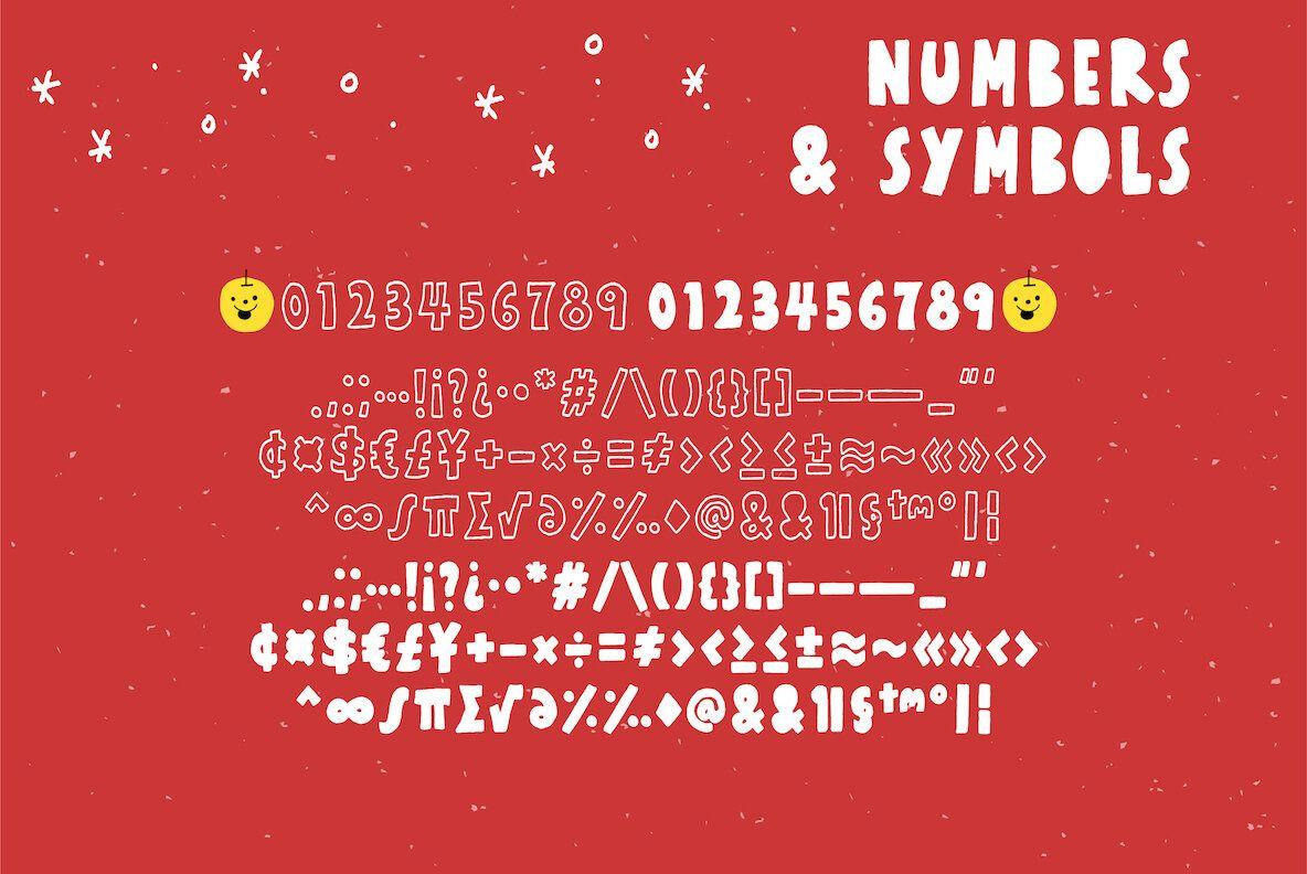 Honey Apple SHOP Font Bundles & YWFT Apple desktop