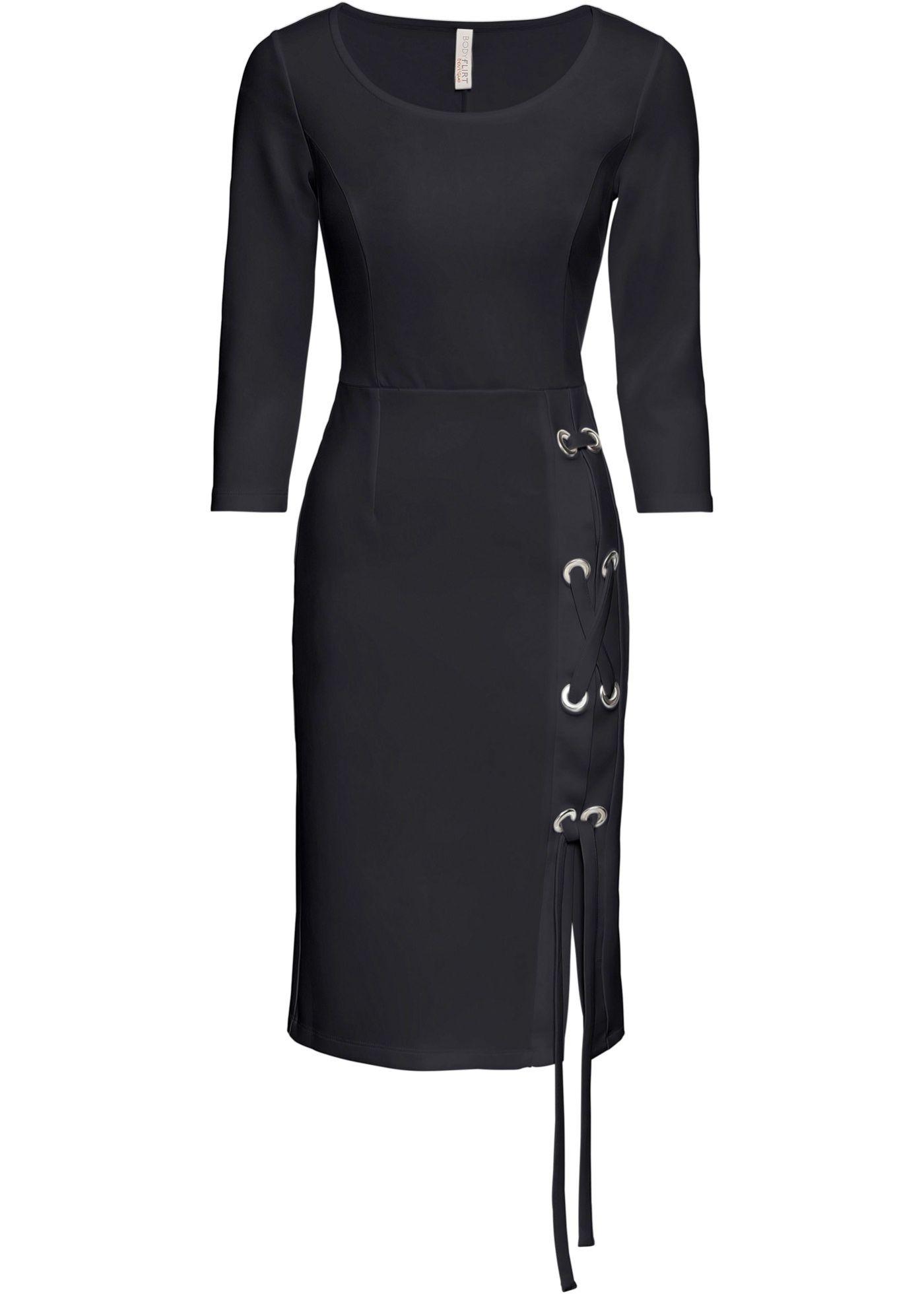 Kleid mit Schnürung  Kleid arbeit, Neues kleid und Outfit