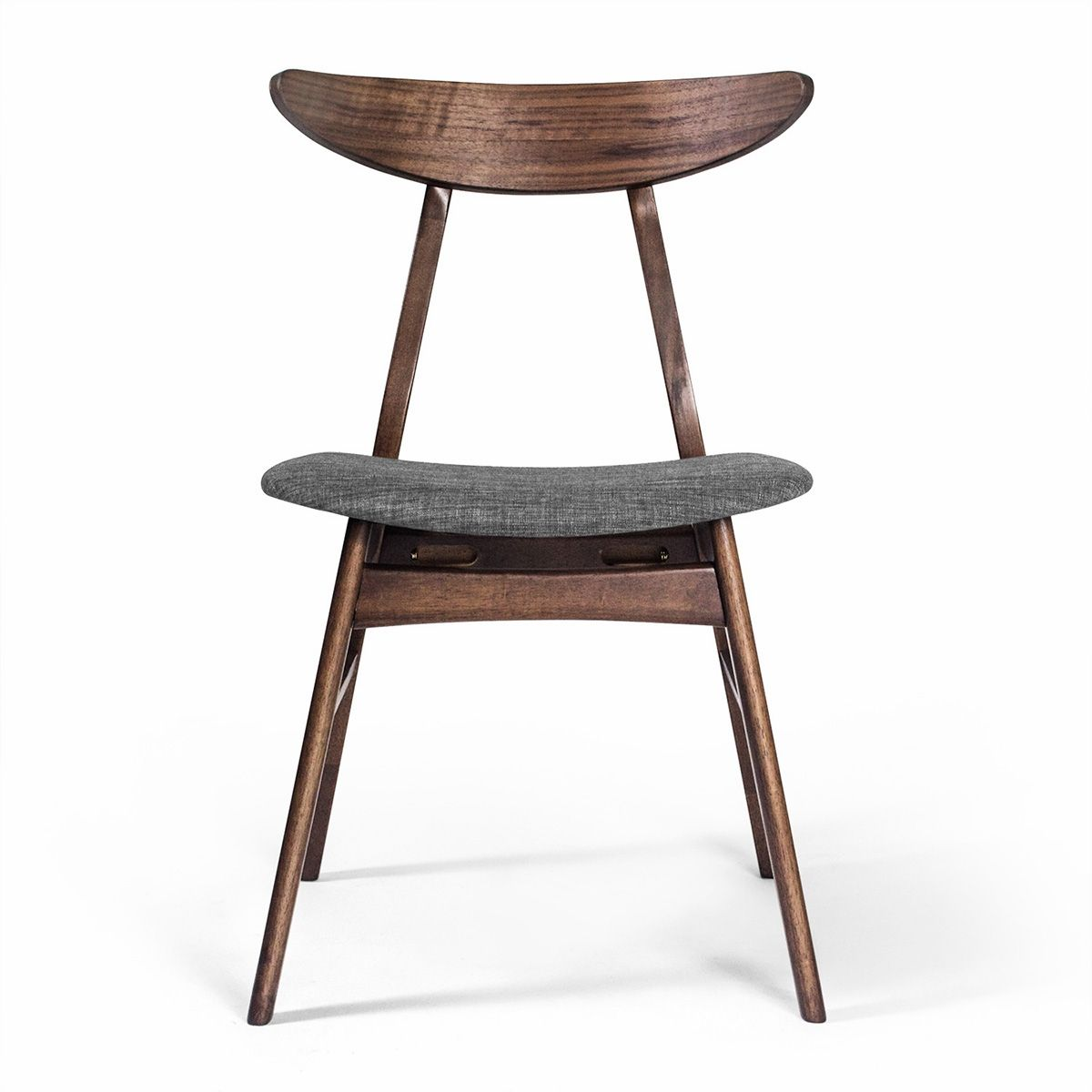Dolphin Dining Chair Solid Wood