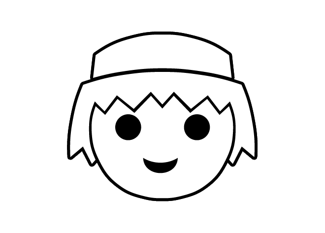 Coloring to print Famous characters Playmobil number