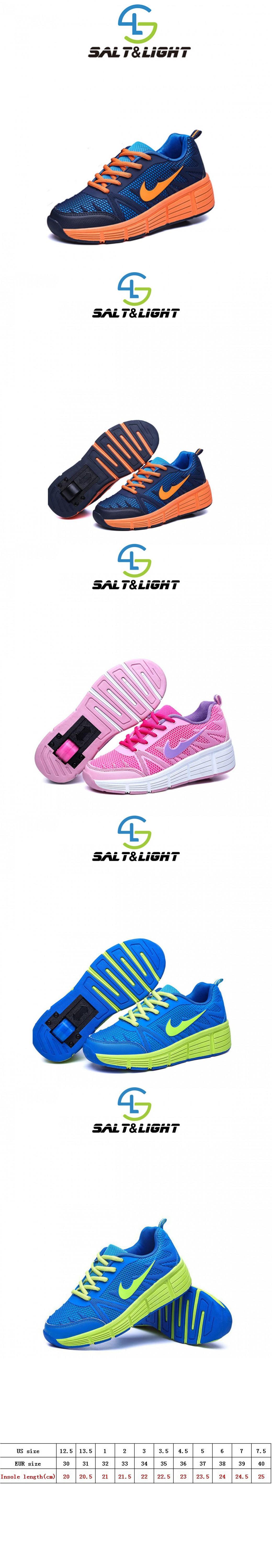Roller shoes london - 2016 New Children Heelys Roller Shoes With Wheels Kids Shoes Fashion Sneakers For Boys Girls Bz013