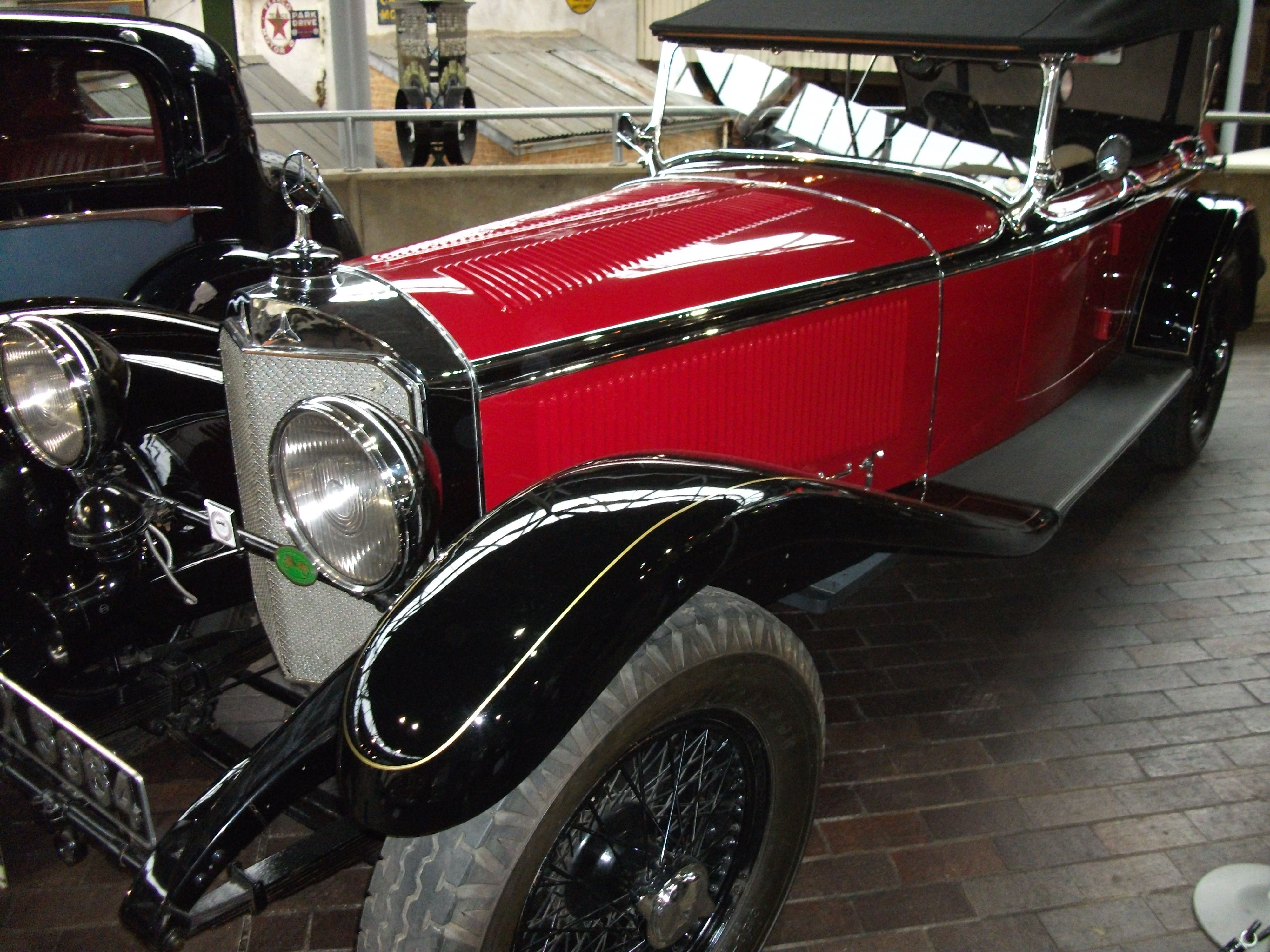 1928 Mercedes 36/220. This is one of the first cars to come out of ...