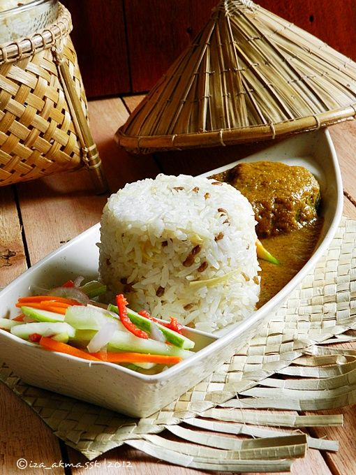 alslam aalykm beras pulut  beras biasa campur santan kelapa  halba bawang hiris Resepi Ikan Tongkol Bakar Enak dan Mudah