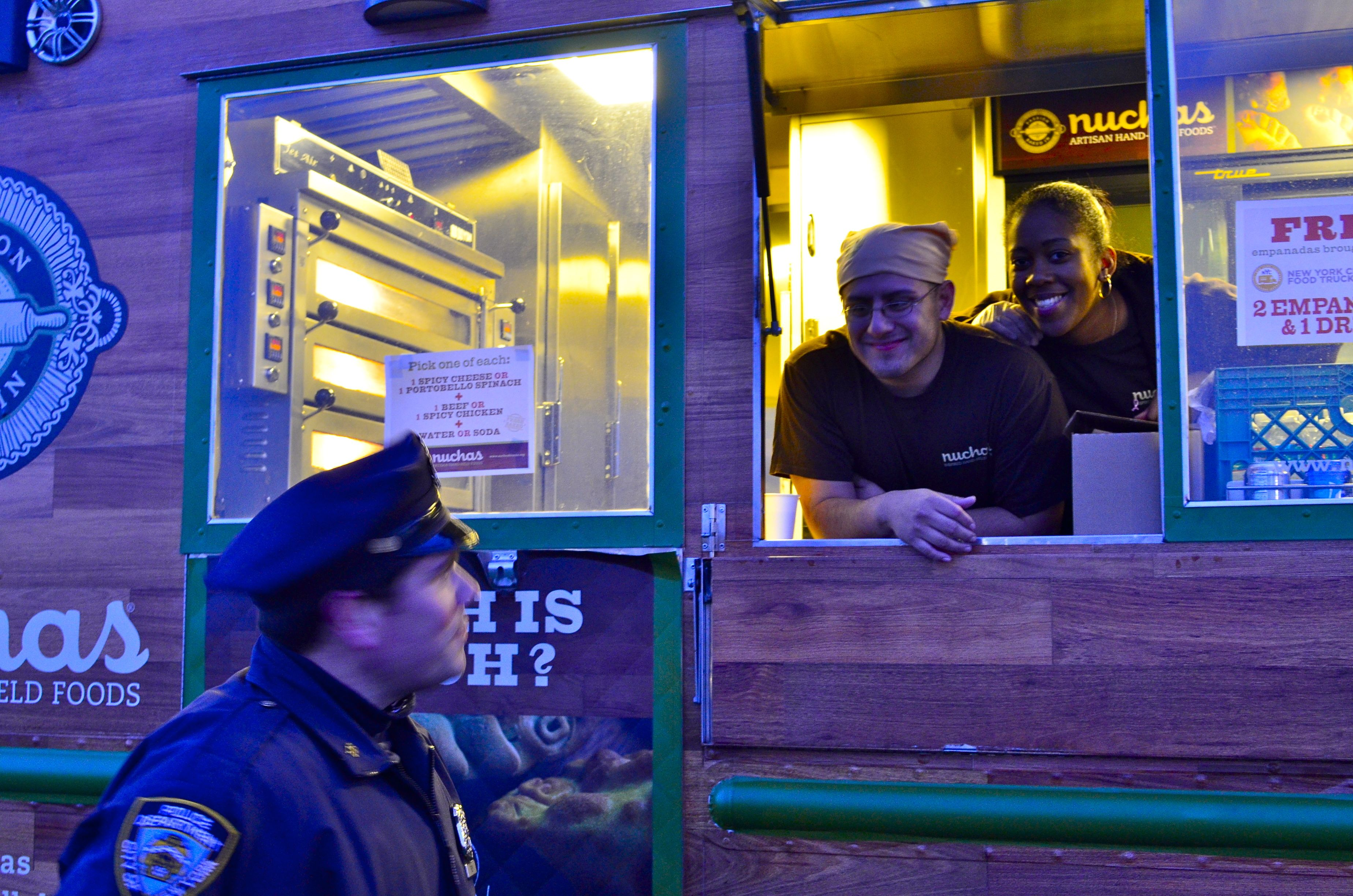 The @NYPD and @NuchasNYC offer post-Sandy relief. Thank you for your support, @NYCMayorsOffice! #SandyUnites
