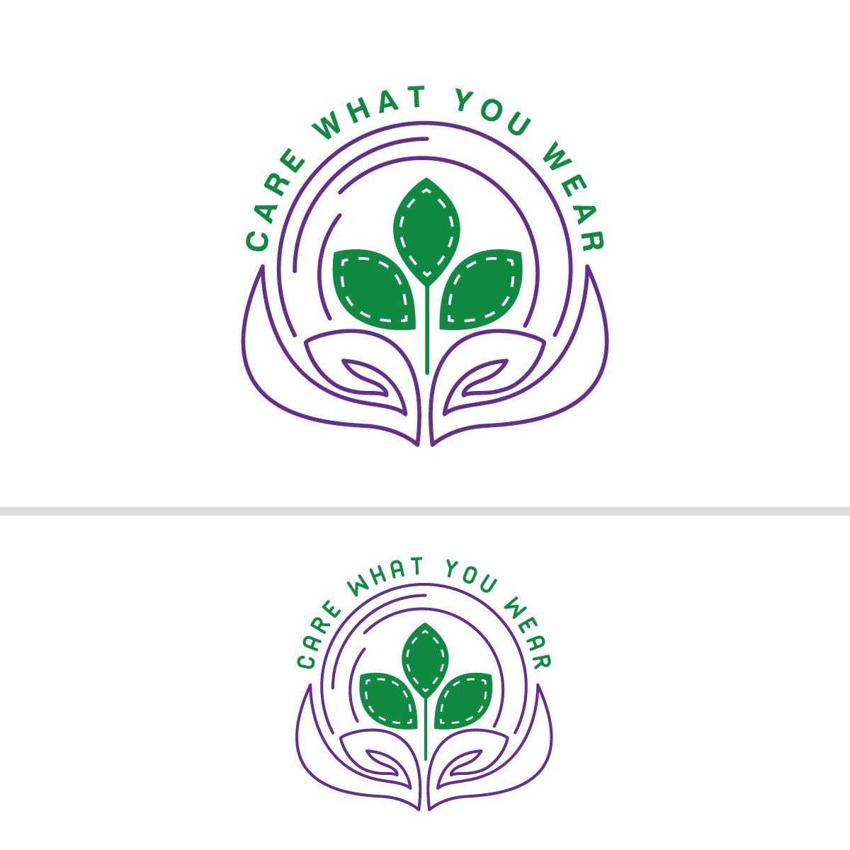 Logo for Green Clothing Campaign Feminine, Bold Logo