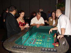 casino theme party- craps table