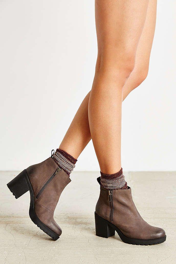 a4cefbc714a93c Vagabond Nubuck Grace Double Zip Boot - Urban Outfitters