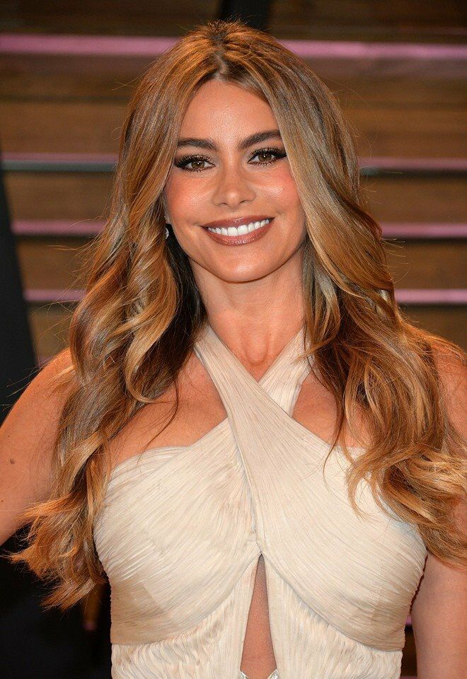 Sofia Vergara Long hair styles, Easy hairstyles for long