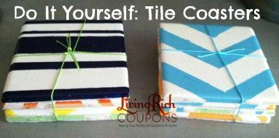 Tile Coasters Do It Yourself Tile Coasters Coasters Diy Home Decor