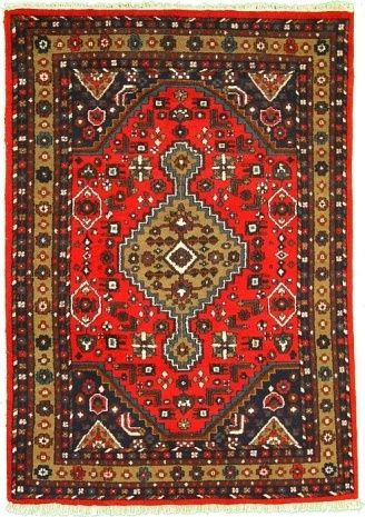 1 X 4 Red Persian Reproduction Oriental Rugs