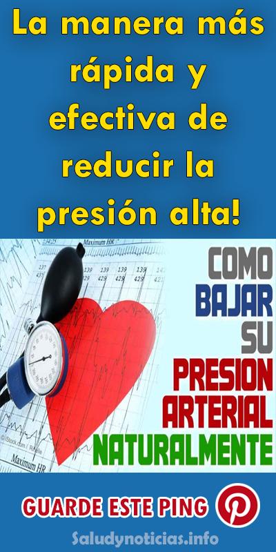Cómo reducir la presión arterial de manera efectiva