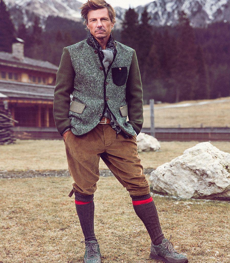 6bd4e5b52da7a7 Luis Trenker Look, Fall Winter collection 2016 #Luistrenker #knickerbocker  #Luisstyle Trachten Männer