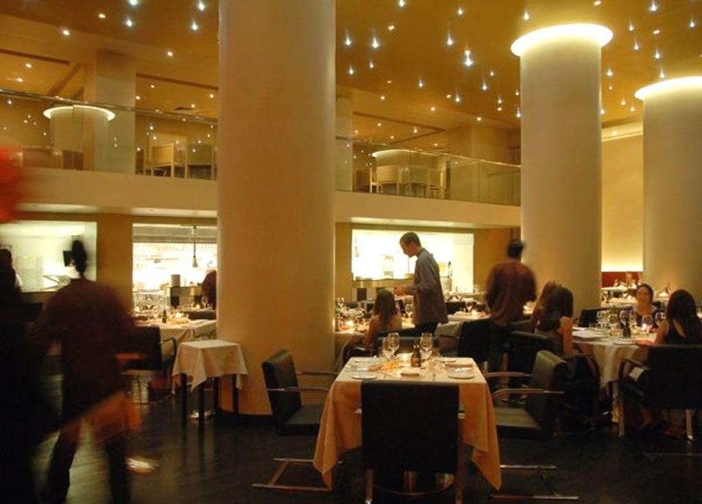 Modern Italian Restaurant Dining Room Interior Design Of Sd26