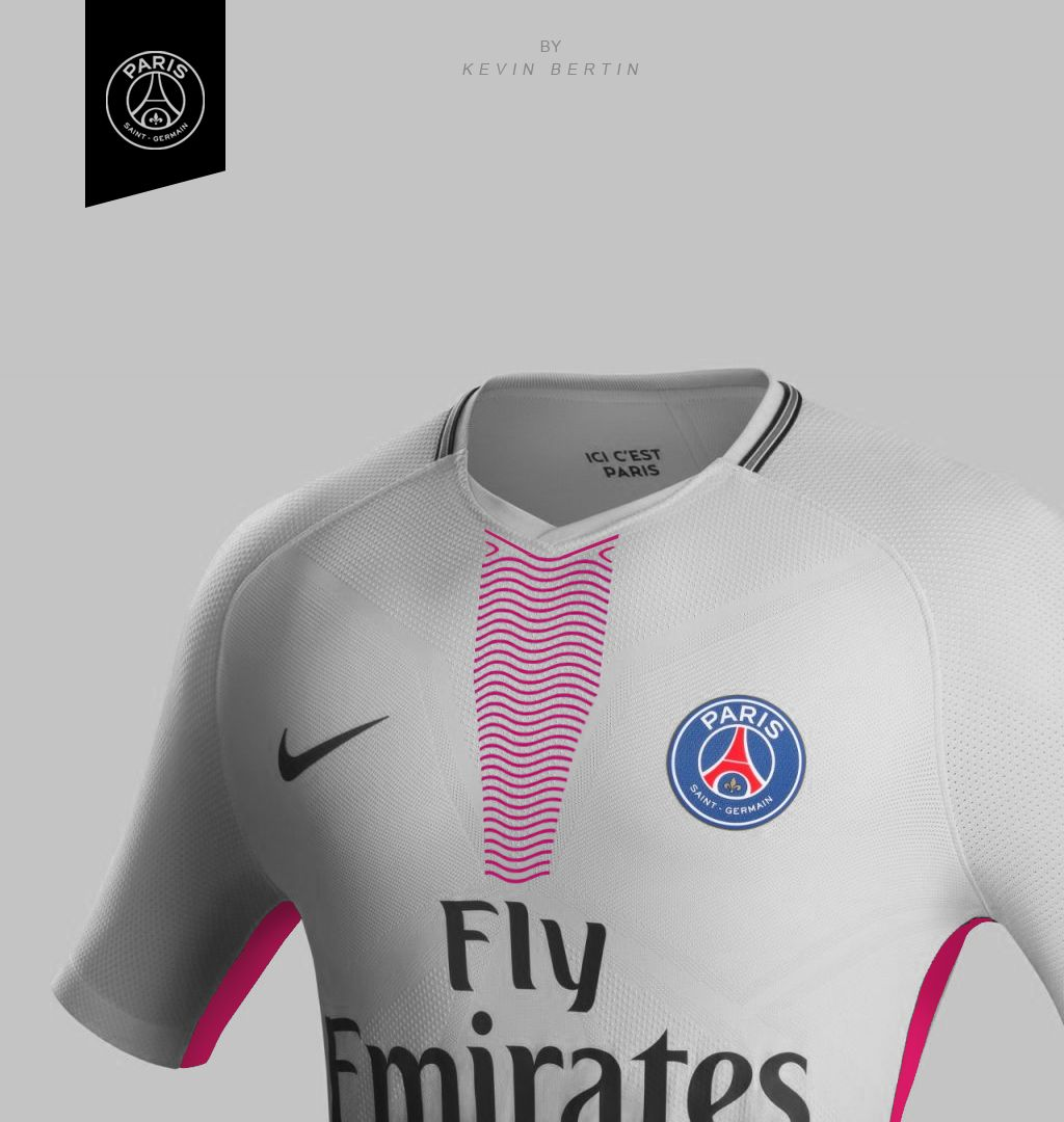 5c8816b92d2 PSG Concept Design Jersey Kit Maillot away 2018-2019 Paris Saint-Germain by  Kevin Bertin