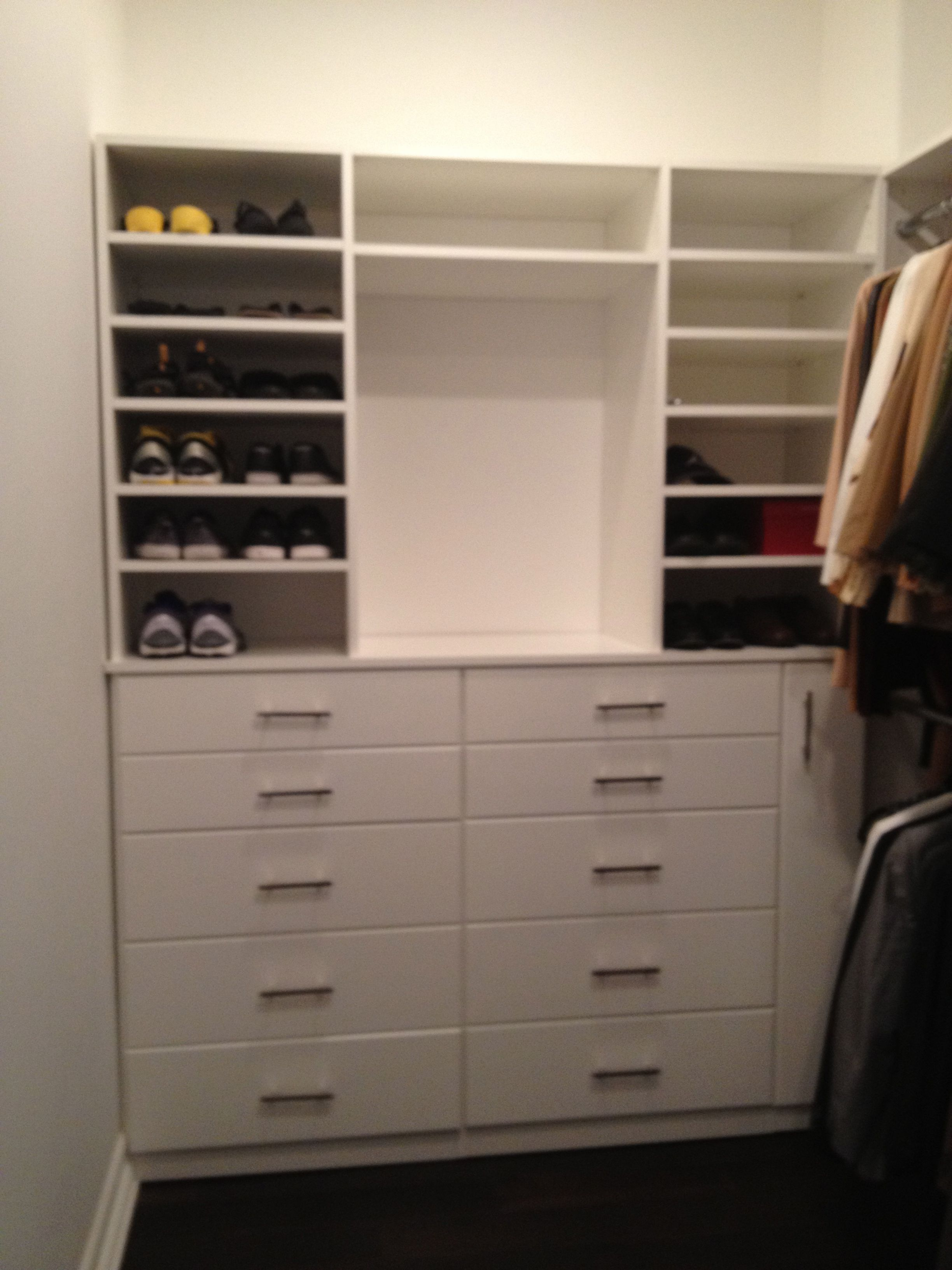 Built In Dresser Inside Closet Built In Dresser, Built Ins, Dressers,  Closets,