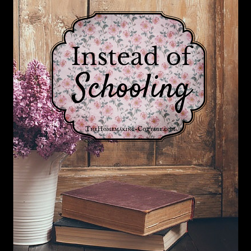 Instead of schooling-in which she nails the morality of it(0;