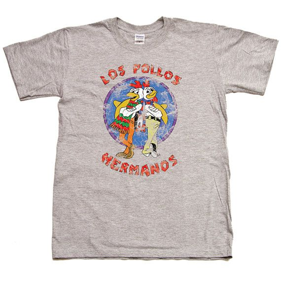 Film Choose ur Color T-Shirt Los Pollos Hermanos Breaking Bad