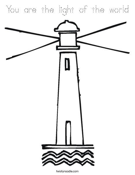 Lighthouse Coloring Page Little Red Lighthouse Light Of The