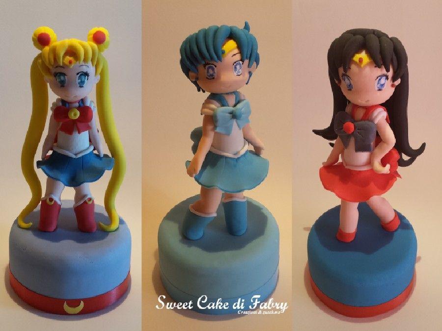 Fabrizio Gaboardi - Sweet Cake di Fabry #cakedesign #cartoon #sailormoon