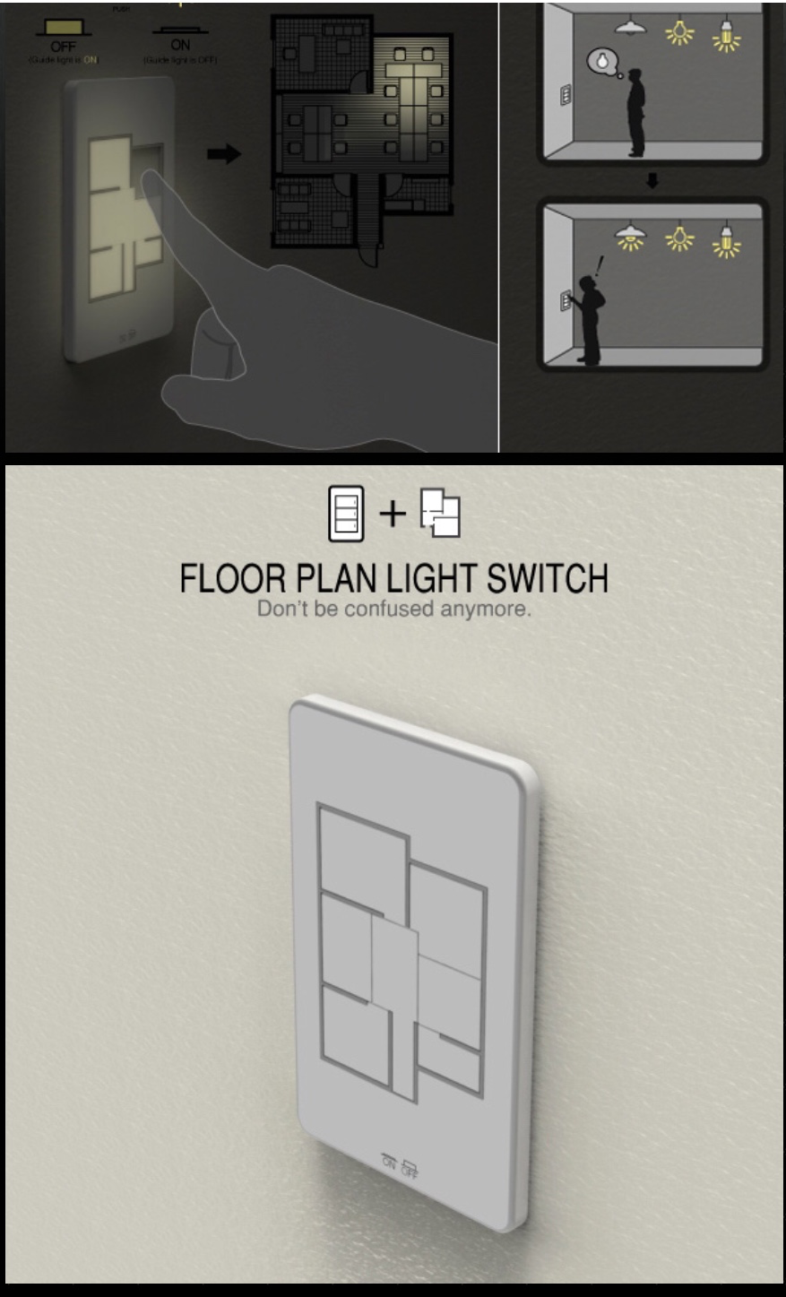 Nice feature that allows the homeowner to turn on or off lights ...