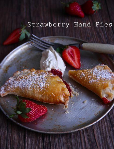 Sweet Li'l Strawberry Hand Pies