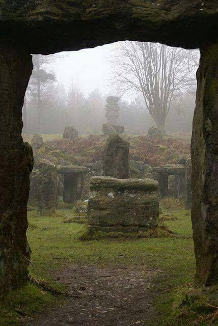 Druids Temple, Leighton, England Photo by Martin B... - #Druids #England #Leighton #Martin #Photo #temple #abandonedplaces
