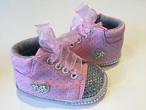HomeDecor / Topánočky / Capačky - ružové 2