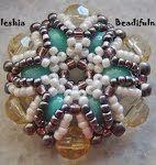Lattice Beaded Bracelet Tutorial - YouTube