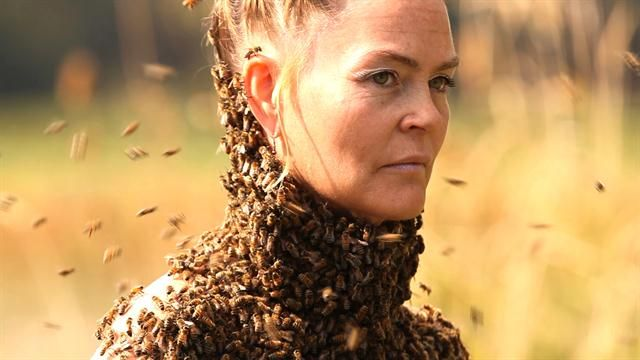 Sara Mapelli, or the Bee Queen, dances with the insects to help people reconnect with nature.