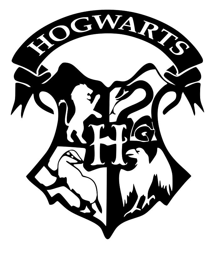 UR Impressions Patronus Stag and Deathly Hallows Decal Vinyl Sticker Graphics for Car Truck SUV Van Wall Window Laptop|White|5.5 Inch|URI245