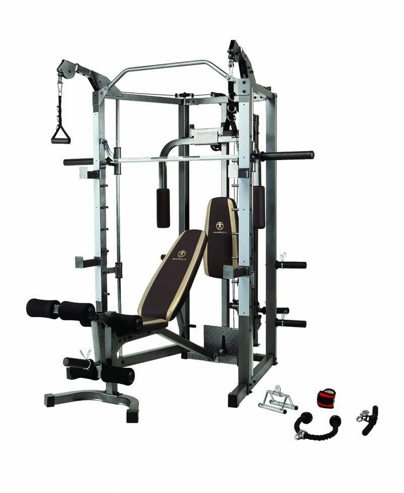 57634290c07 Marcy SM4008 Smith Machine w  Attachments  FitnessEquipment30Day Exercise  Equipment