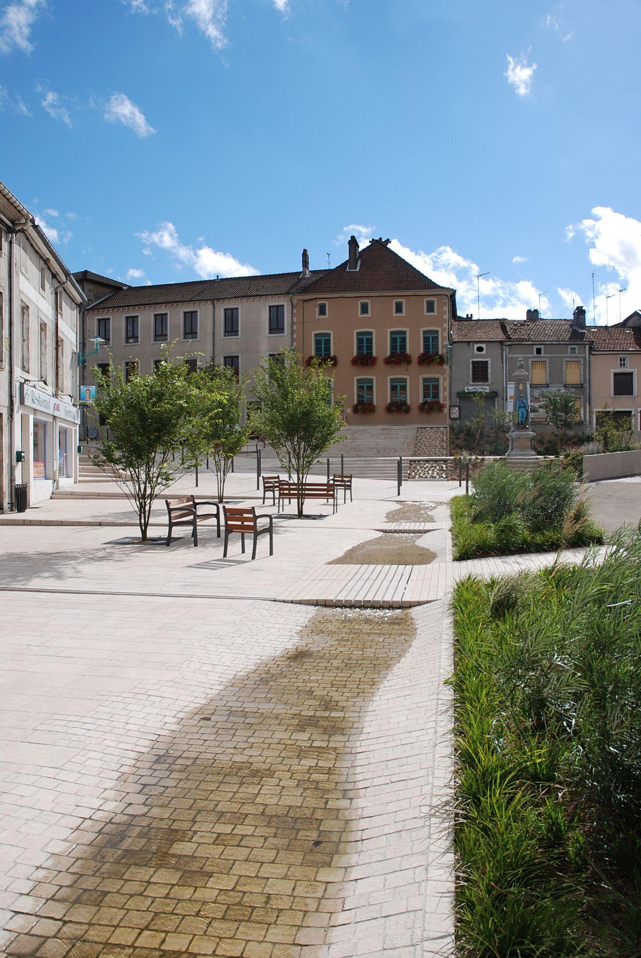 Villes Et Paysages atelier villes & paysages gondrecourt-le-château, requalification de