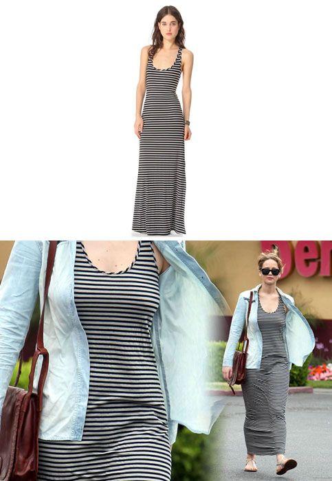 Jennifer scoop neck maxi dress