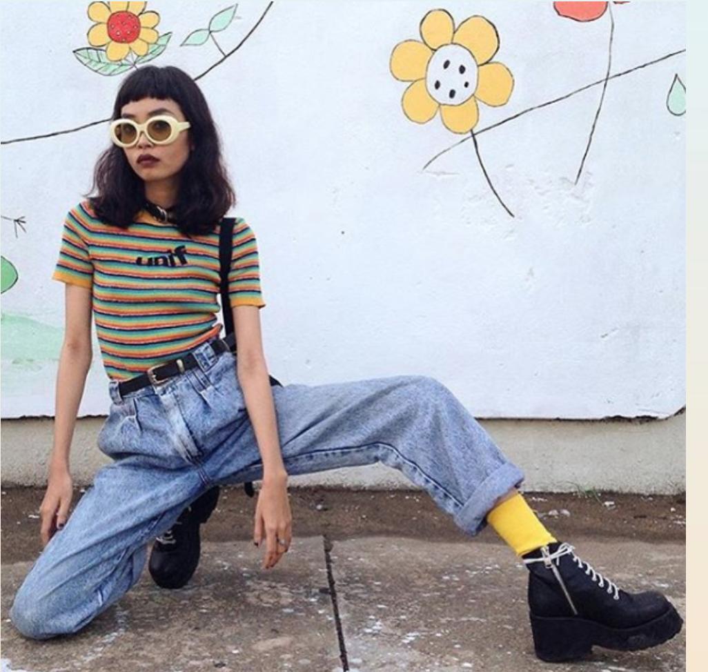 90s Fashion Aesthetic