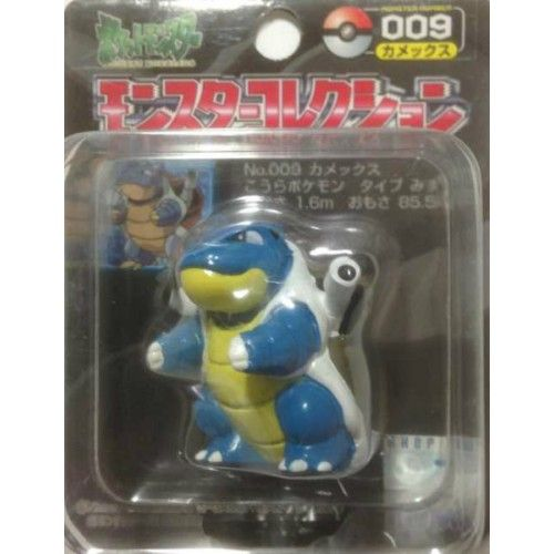 Pokemon 2004 Blastoise Tomy 2 Monster Collection Plastic Figure #009
