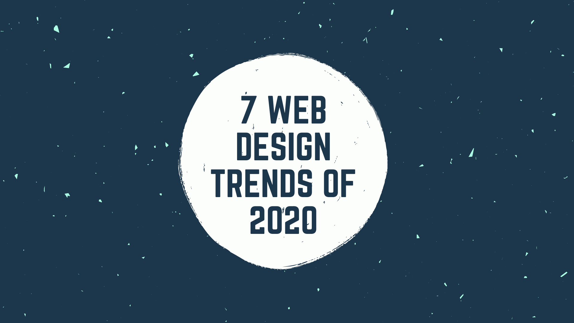 7 web design trends of 2020