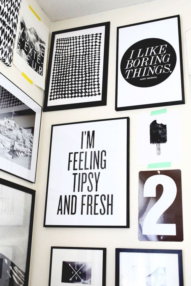 14 (Free!) Printables for Your Gallery Wall | Printables I love