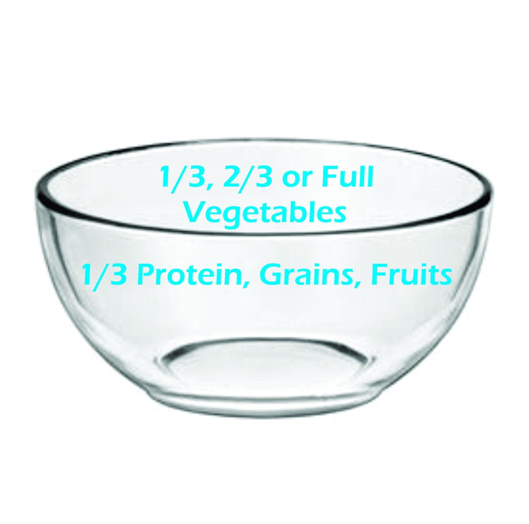 Clear Healthy Bowl