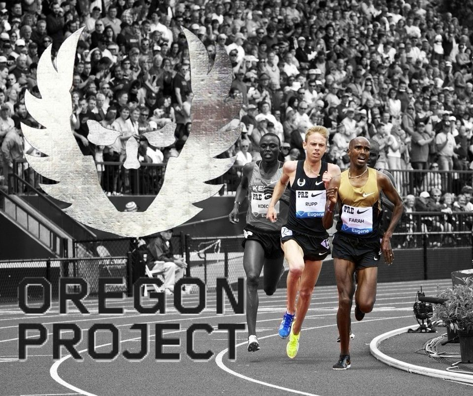 finest selection f32a0 cb31d Rupp and Farah Nike Oregon Project