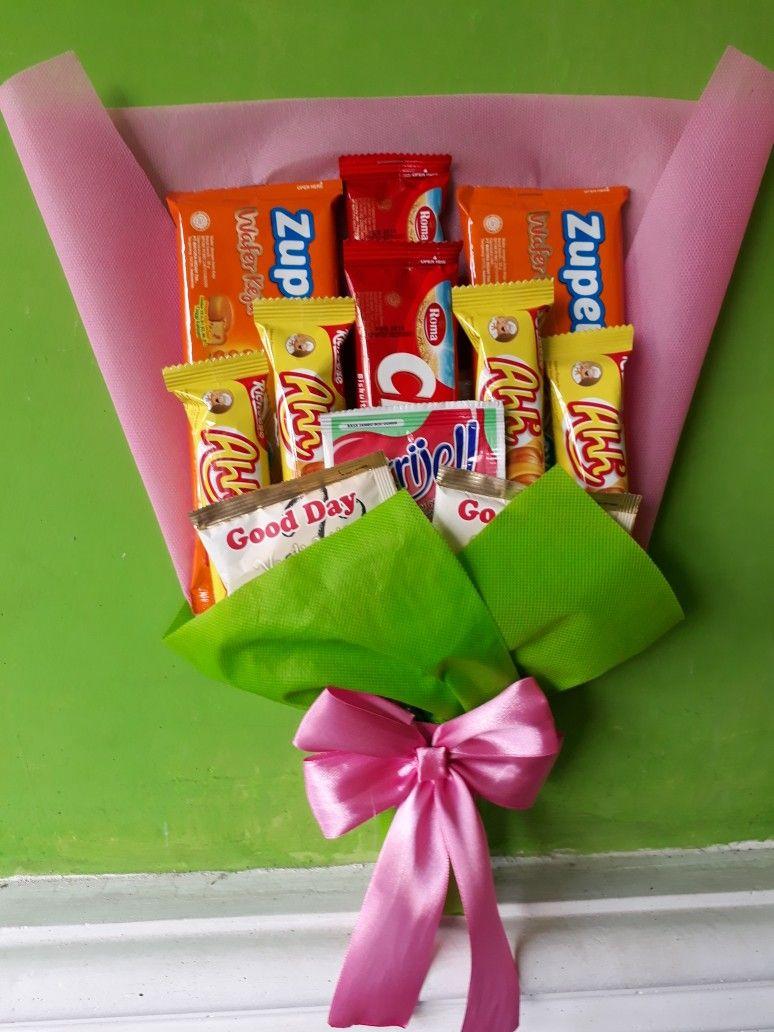 Buket Snack Pita Ide Hadiah Kue Ulang Tahun Ulang Tahun